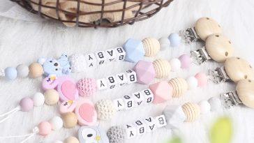 personalizzare portaciuccio perle