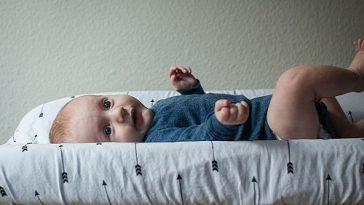 bebè cambiato