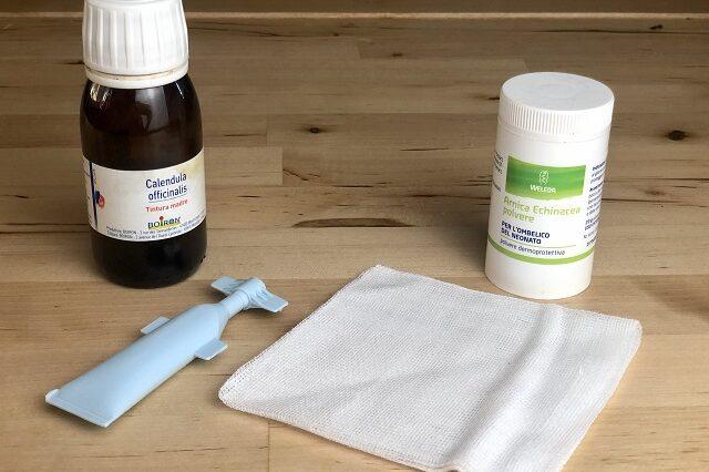 oggetti medicazione ombelico