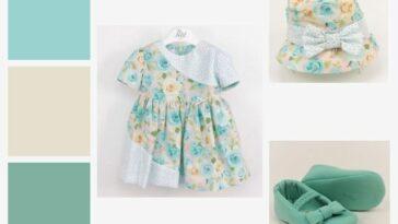 idee vestito battesimo femmina azzurro