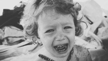bambini non sopportano capricci e piagnucoloni