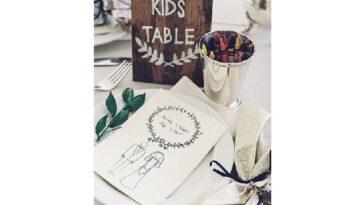 bambini al matrimonio idee divertimento e tavola